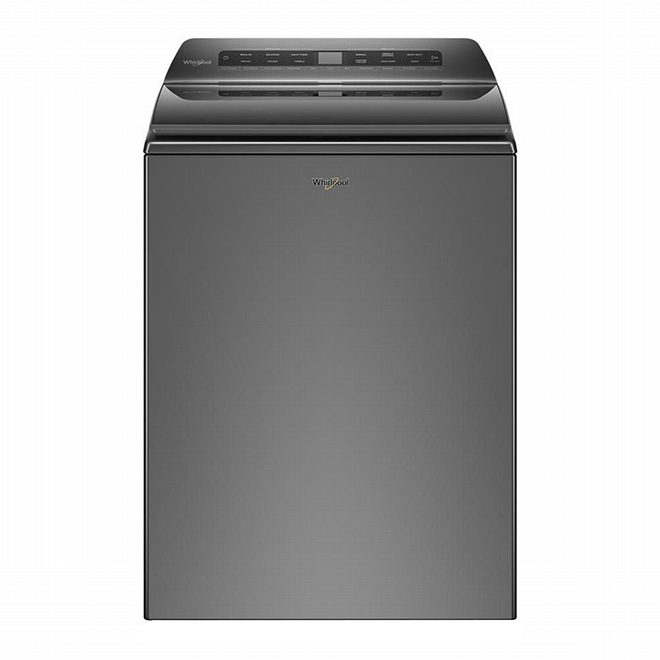 Whirlpool(R) Top Load Washer - 5.4 cu. ft. Chrome Shadow