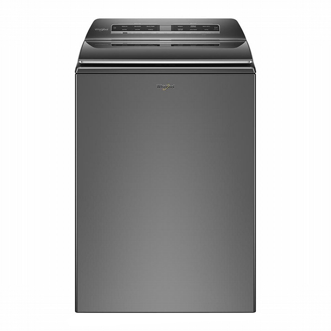 Smart Top Load Washer - 6.1 cu. ft. Chrome Shadow