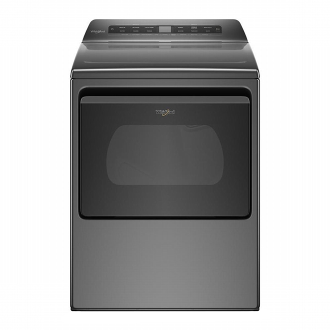 Dryer with Hamper Door - 7.4 cu. ft. - Chrome Shadow