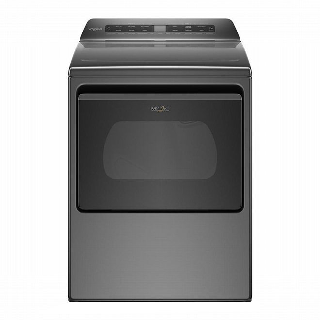 Smart Electric Dryer - 7.4 cu. ft. - Chrome Shadow