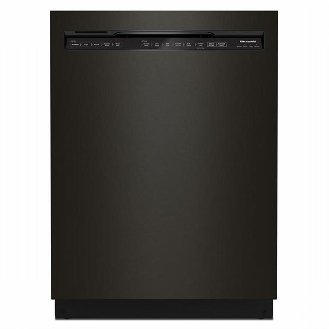 Kitchenaid Built-In Dishwasher - 24 1/2'' - Black SS