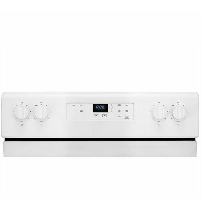 "Whirlpool® Electric Range - 4.8 cu. ft - 30"" - White"