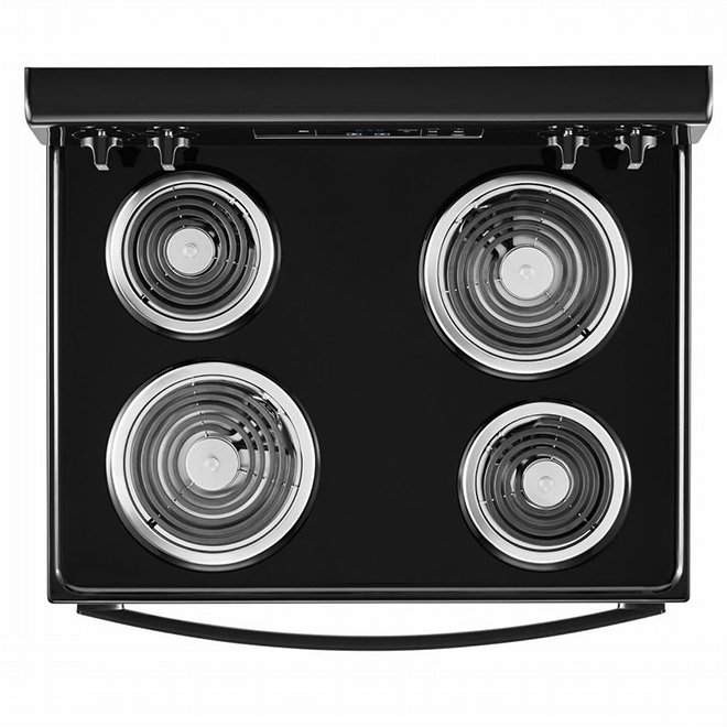 "Whirlpool® Electric Range - 4.8 cu. ft - 30"" - Black"