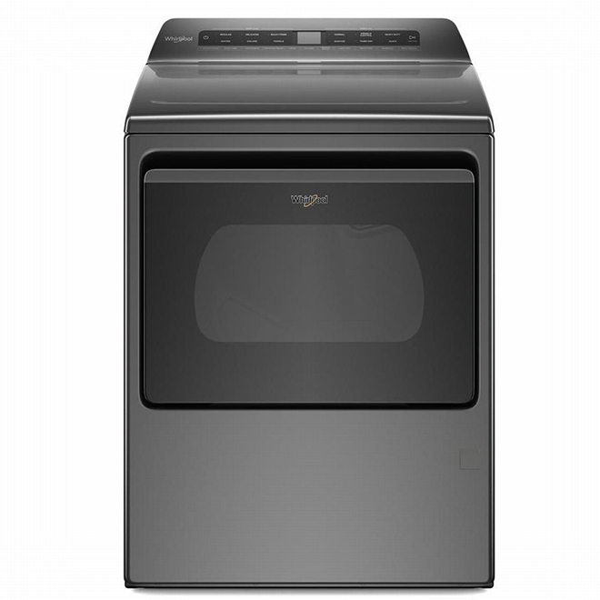 Smart Gas Dryer - 7.4 cu. ft. - Wrinkle Shield - Chrome Shadow