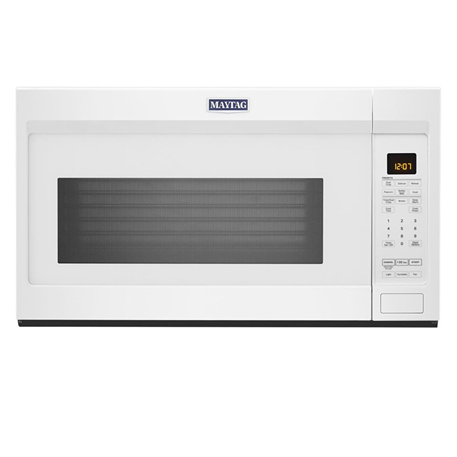 Maytag - Microwave - Over The Range - 1.9 cu.ft - White