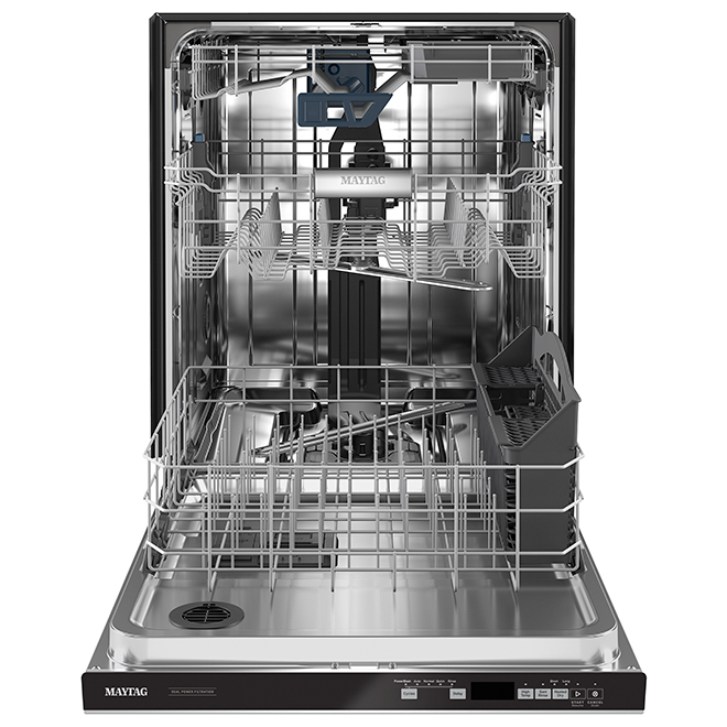 "Maytag Built-In Dishwasher - Third Rack - 24"" - SS"