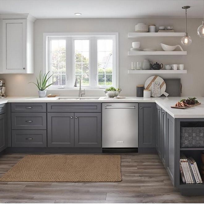 """Lave-vaisselle KitchenAid avec système ProWash, 24"""", inox"""