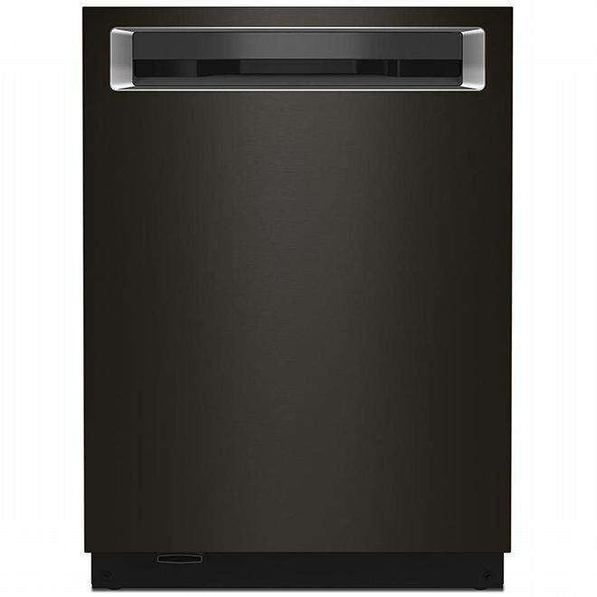 "KitchenAid Dishwasher with ProWash(TM) - 24"" - Black SS"