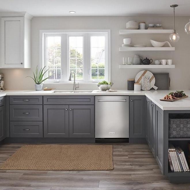 "Lave-vaisselle KitchenAid avec fini PrintShield, 24"", inox"