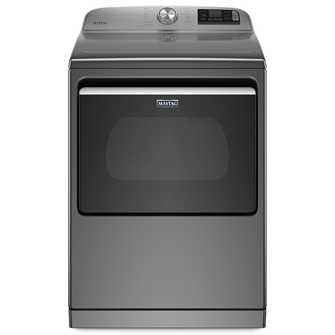 "Maytag Electric Dryer with Extra Power Function - 27"" - 7.4 cu. ft. - Metallic Slate"