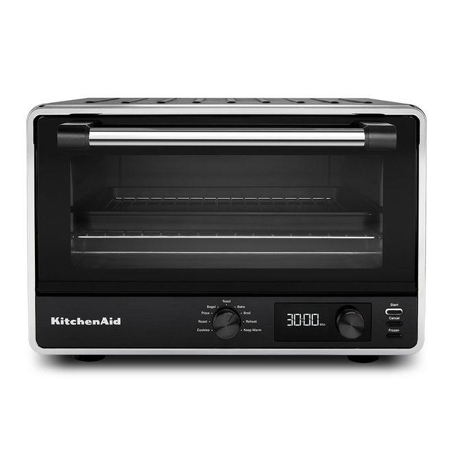 KitchenAid 17-in Black Digital Countertop Oven