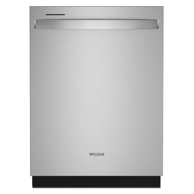 Whirlpool Built-In Dishwasher with Tall Tub and Third Rack - 24-in - Stainless Steel