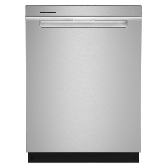 Whirlpool 47-Decibel Built-In Dishwasher with Hidden Controls - 24-in - Stainless Steel