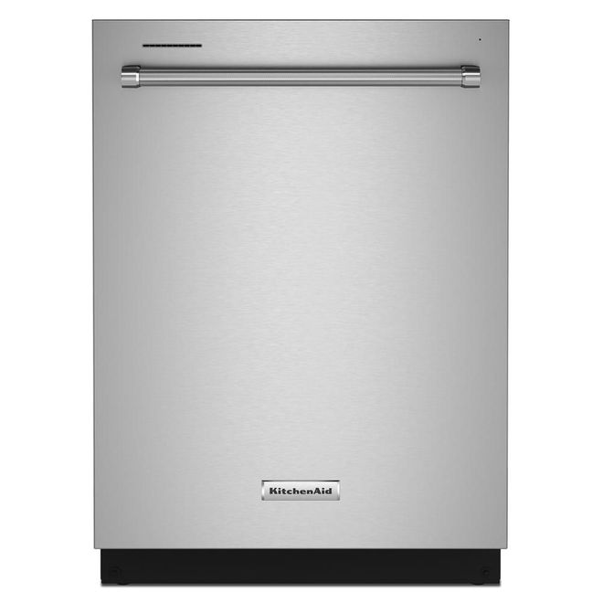 KitchenAid Built-In PrintShield Finish Hidden Controls 3 Racks Dishwasher - 24-in - 39-dB - Stainless Steel