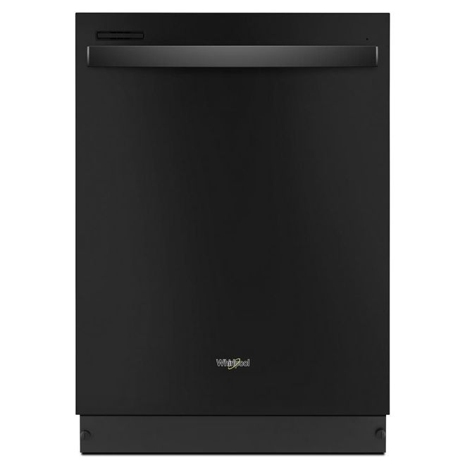 Whirlpool Built-In Dishwasher with Hidden Controls - 24-in - Black
