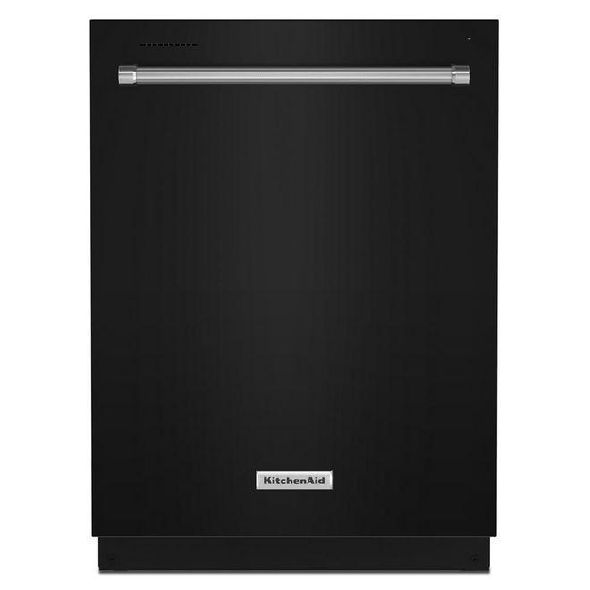 KitchenAid 39-Decibel Built-In Dishwasher with Hidden Controls - 24-in - Black