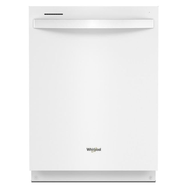 Whirlpool Built-In Dishwasher with Tall Tub and Third Rack - 24-in - White