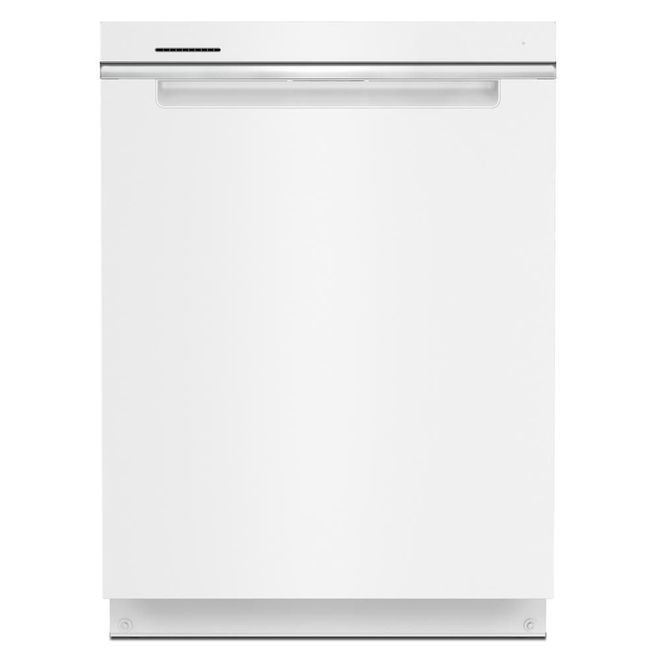 Whirlpool 47-Decibel Built-In Dishwasher with Hidden Controls - 24-in - White