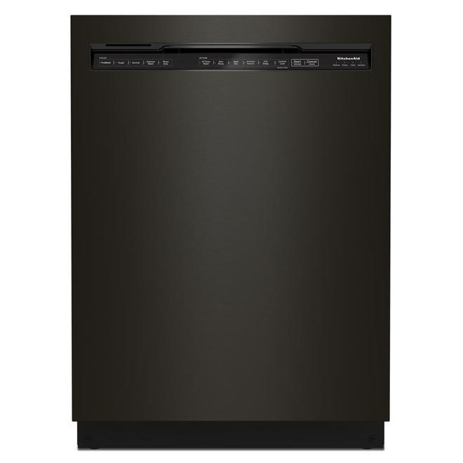 KitchenAid 39-Decibel Built-In Dishwasher with Pocket Handle - 24-in - Black
