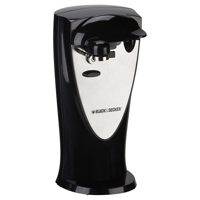 Can Opener - 2-in1 - Black