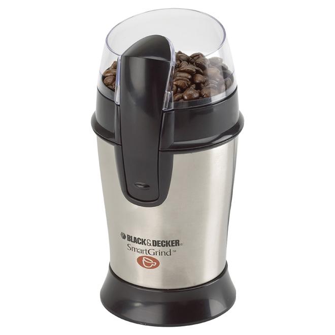 Coffee Bean Grinder - Smartgrind - Stainless Steel - 1/2 Cup