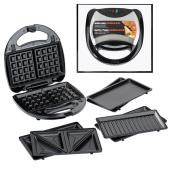2-Serving Multi-Plate Grill/Waffle/Sandwich Maker