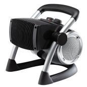 Lasko Utility Heater - 1500 W - Plastic/Metal - Black
