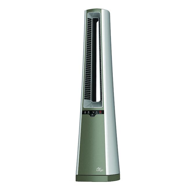 Ventilateur de tour, Lasko, plastique 4 vitesses blanc/gris