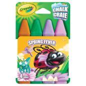 Craies lavables, modèle « Spring Fever », boîte de 4 bâtons