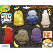 """Despicable Me"" Washable Chalks - Pack of 6 Sticks"
