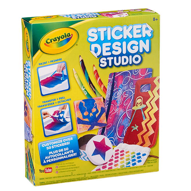 Crayola Sticker Design Studio