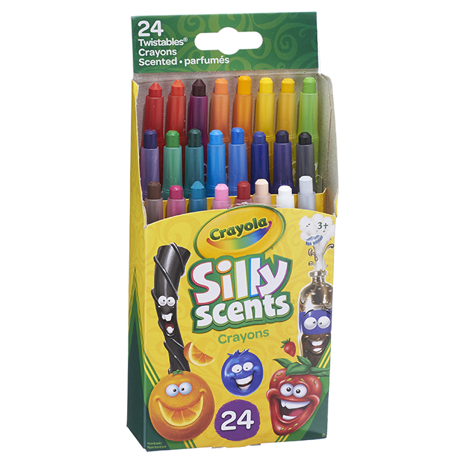 """Silly Scents"" Scented Crayons"