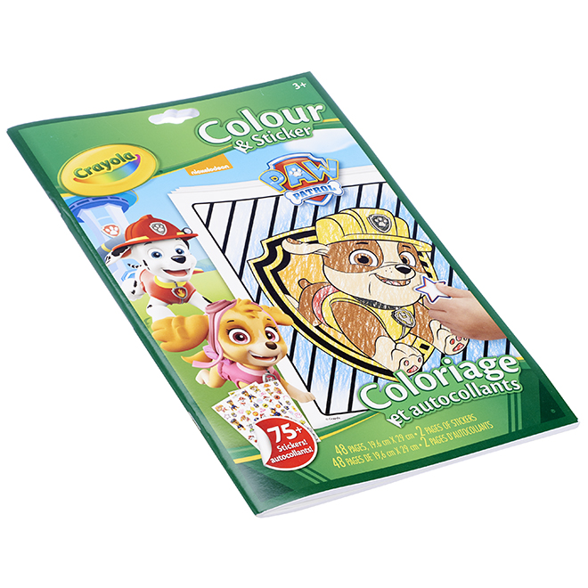 """""""Paw Patrol"""" Colouring and Stickers Book"""