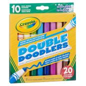 Dual-Ended Washable Markers - Pack of 10