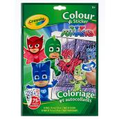 PJ Masks Colour & Sticker Book - 48 pages
