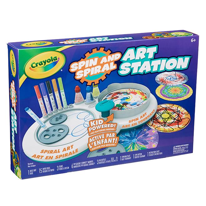 Crayola® Art Station - 3-year and up