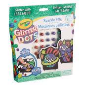 Crayola Sparkling Mosaic Glitter Dots -