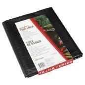 Membrane pour étang, PVC, 7' x 10', 760 l