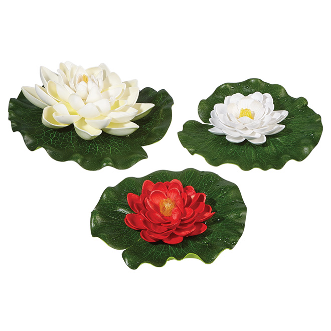 Floating Lilly Pads - 3 Pack
