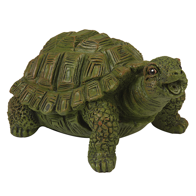 Turtle Water Spitter - Resin - Green