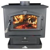 Wood Stove - 100 CFM Blower - 89000 BTU - 2000 sq. ft.