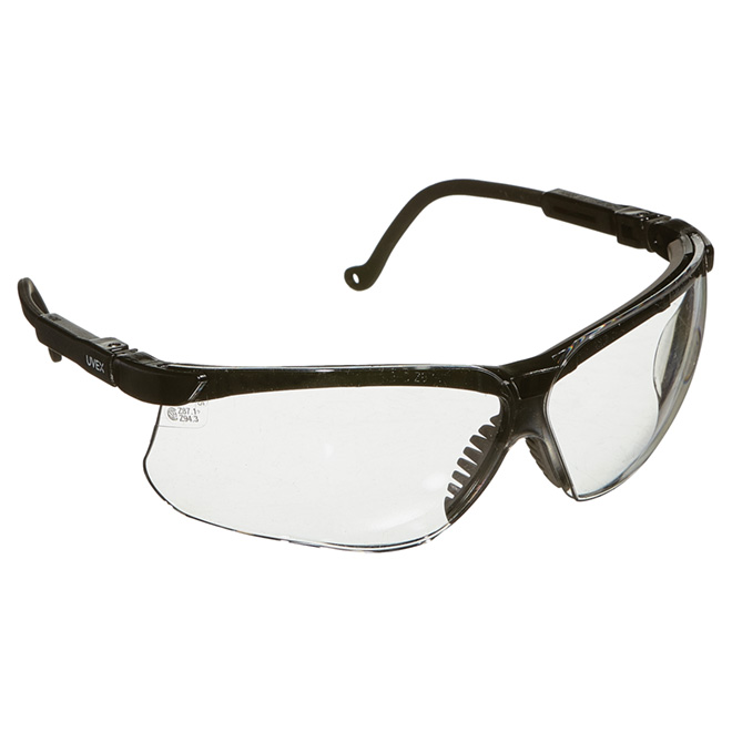 120691b87b62 Wrap-Around Safety Glasses - Uvex Stealth - Clear Lens
