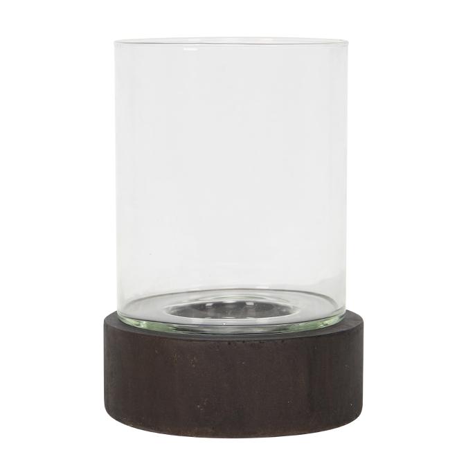 "Ficonstone Outdoor Lantern - 9.5"" - Antique Brown"