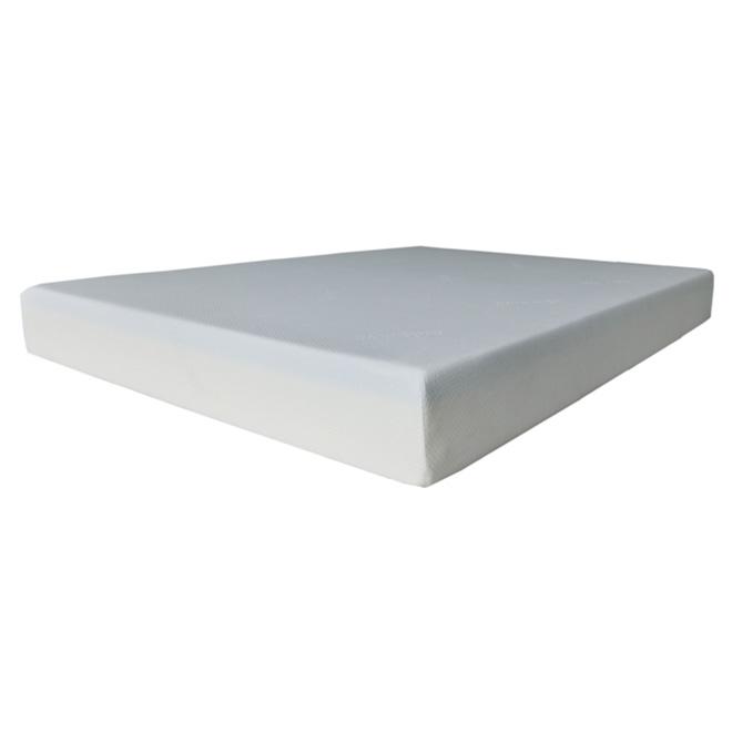 grand matelas en mousse gel roul 60 blanc rona. Black Bedroom Furniture Sets. Home Design Ideas