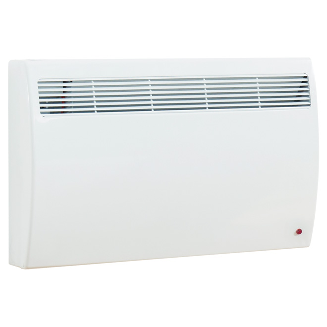 Quiet Wall Convector - 2000 W - 240 V - 200 sq. ft. - White
