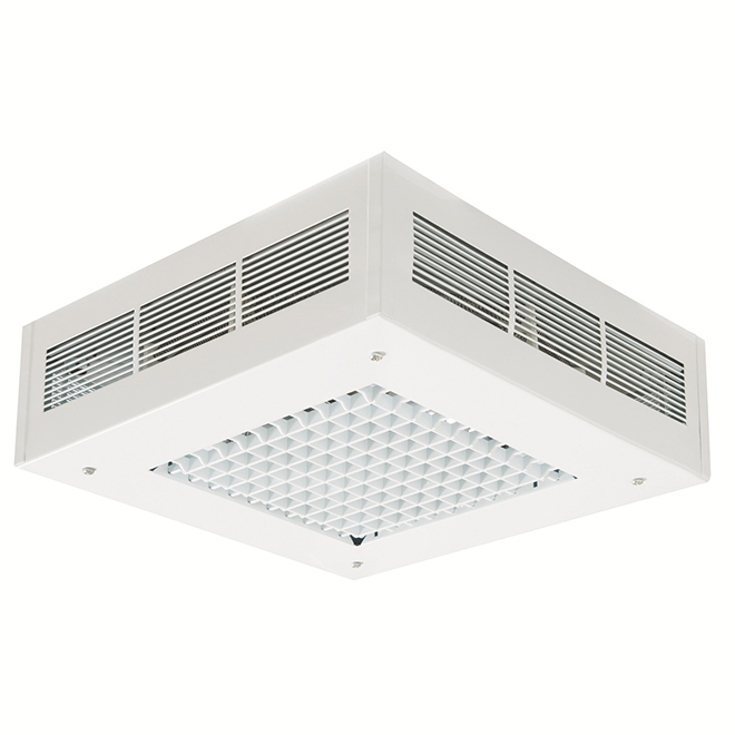 Ceiling-Mounted Garage Heater - 5000 W - 500 sq. ft. - White