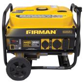 Gas-Powered Portable Generator - 3550 W - Yellow