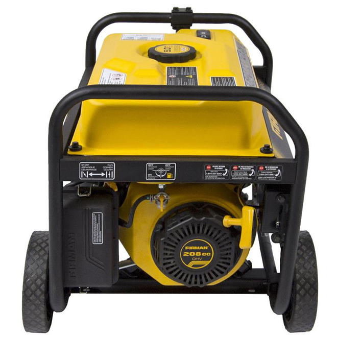 Firman Gas-Powered Portable Generator - 3550 W - 5-Gallon