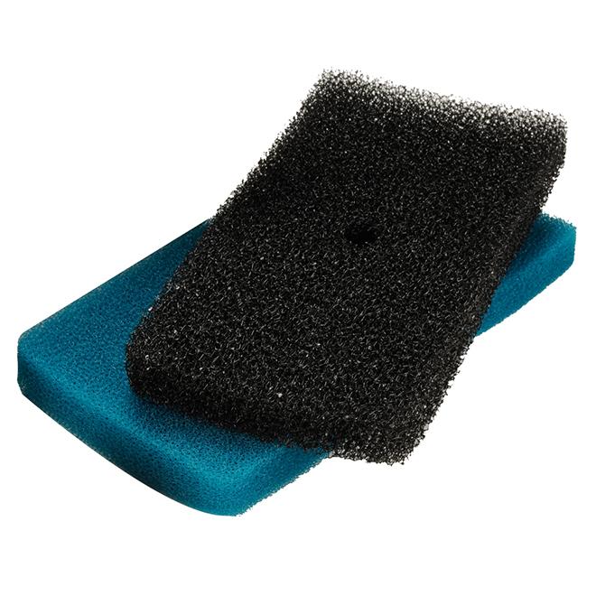 Replacement Filter Pad - Blue/Black - 2/PK