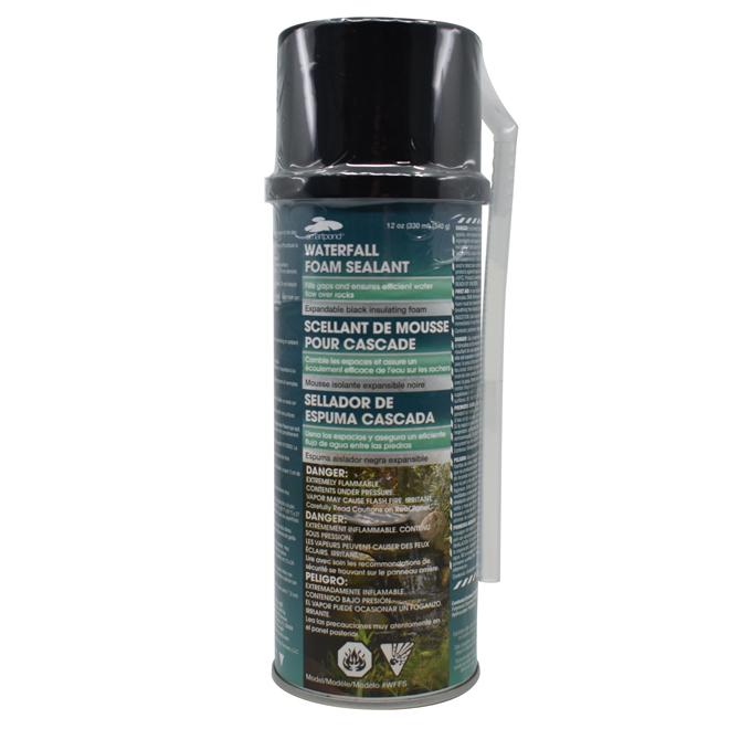 Foam Sealant for Artificial Waterfall - 340 g - Black
